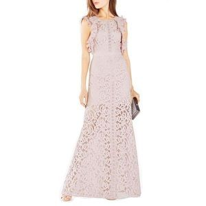 GEANNA LACE BLOCKED GOWN
